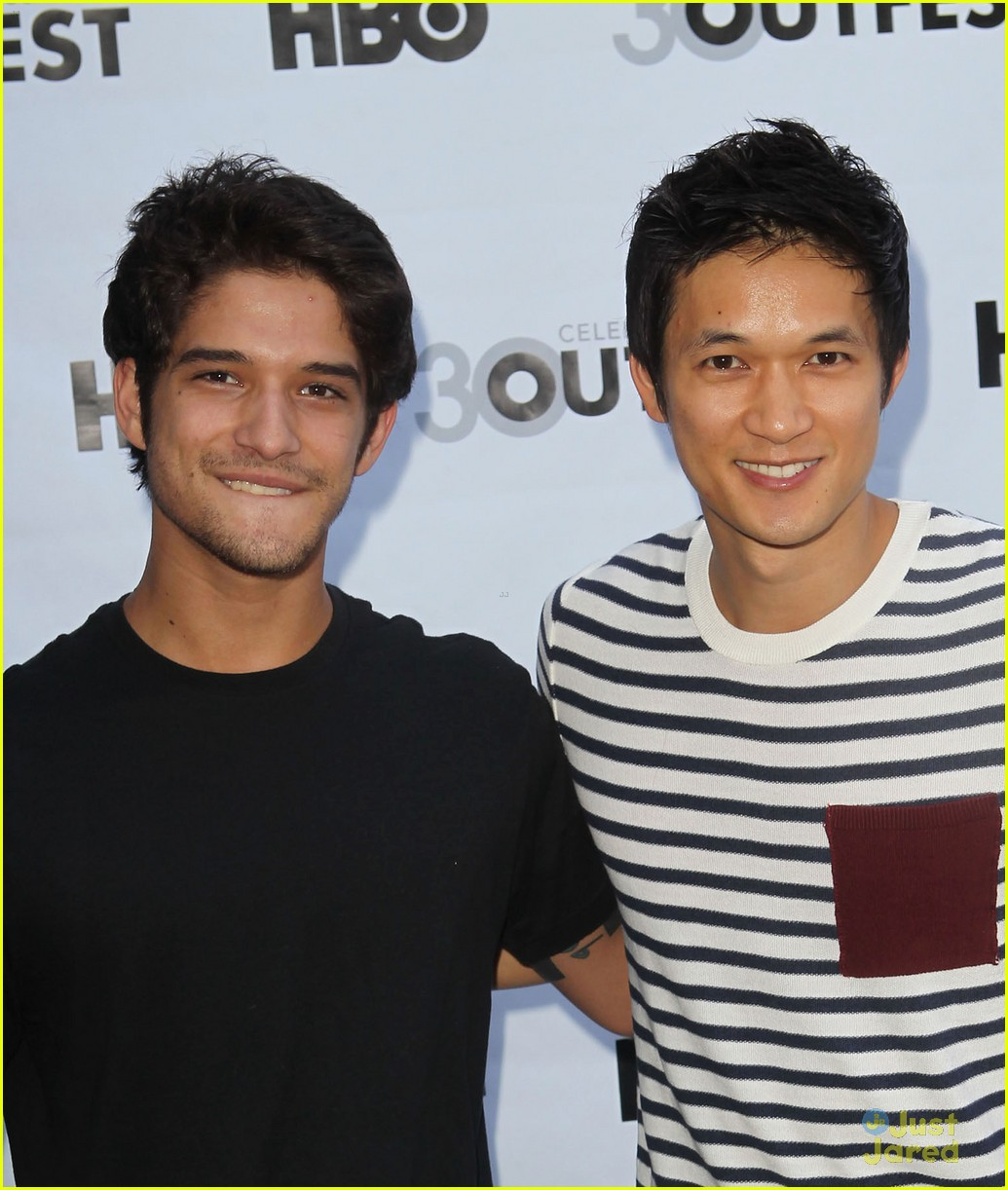 tyler posey harry shum white frog 05
