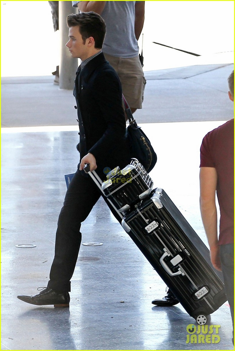 colfer glee airport 04