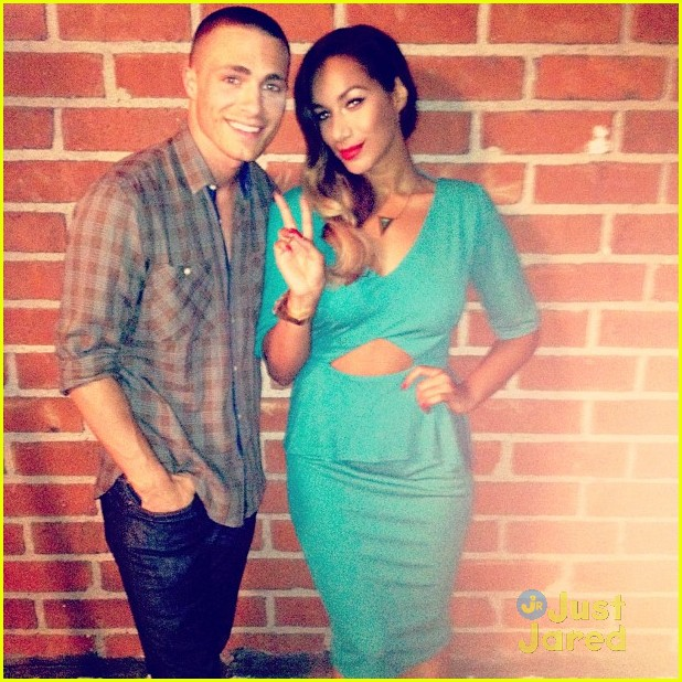 colton haynes leona lewis video shoot 02