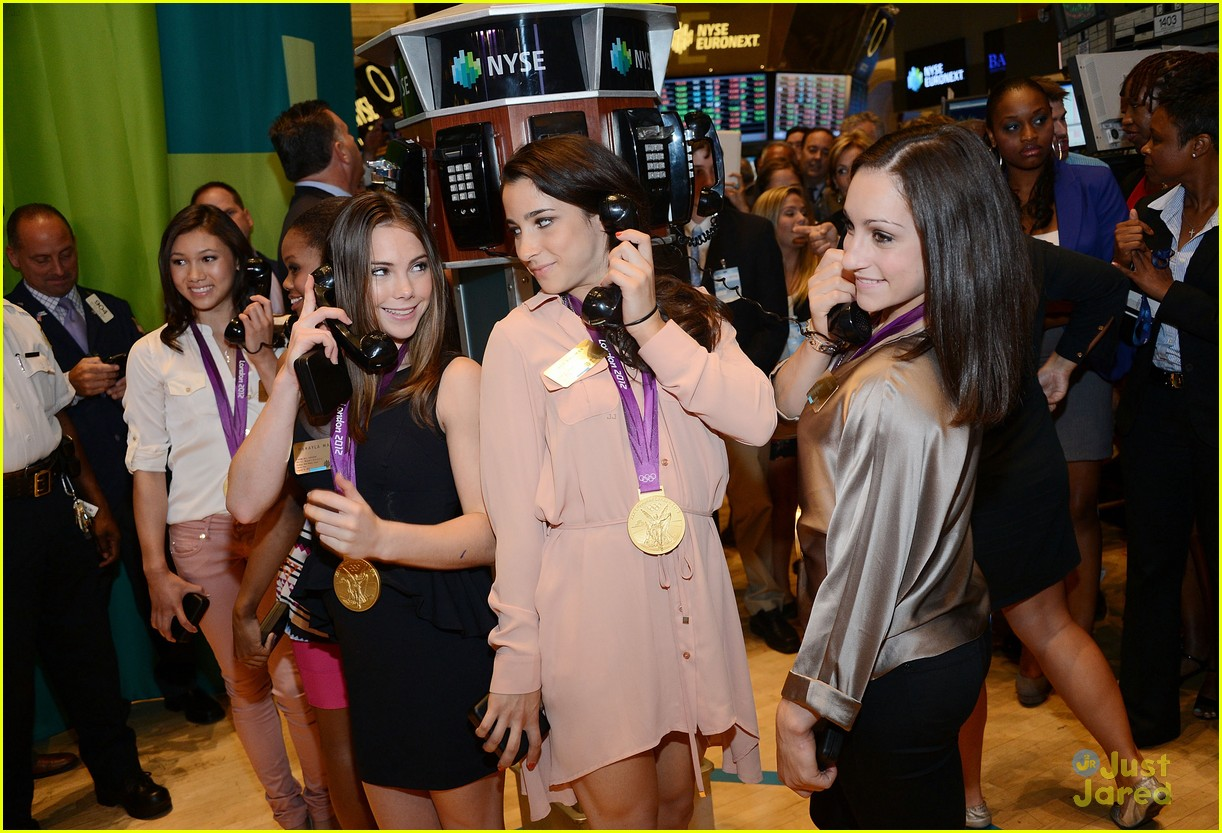 mckayla maroney nyse gymnasts 11