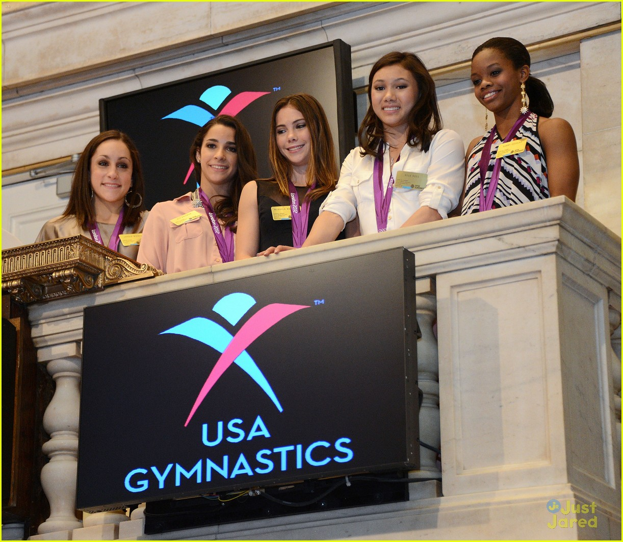 mckayla maroney nyse gymnasts 14