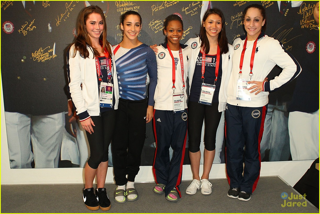 us gymnasts usa house olympics 10