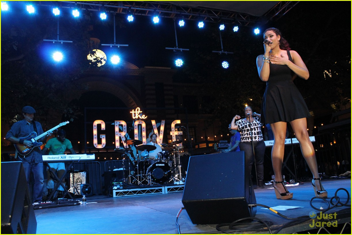 jordin sparks grove concert 09