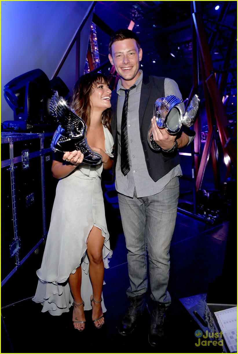lea michele cory monteith ds awards 24