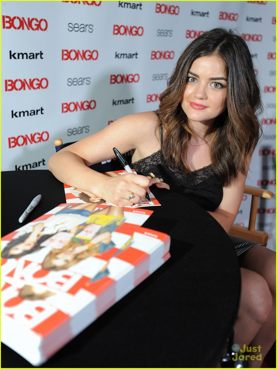 lucy hale bongo drive in 10