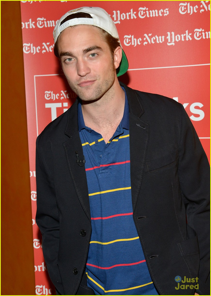 pattinson times talks presents 10