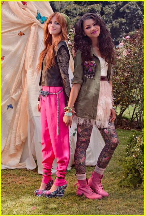 bella thorne zendaya fashion video pics 08