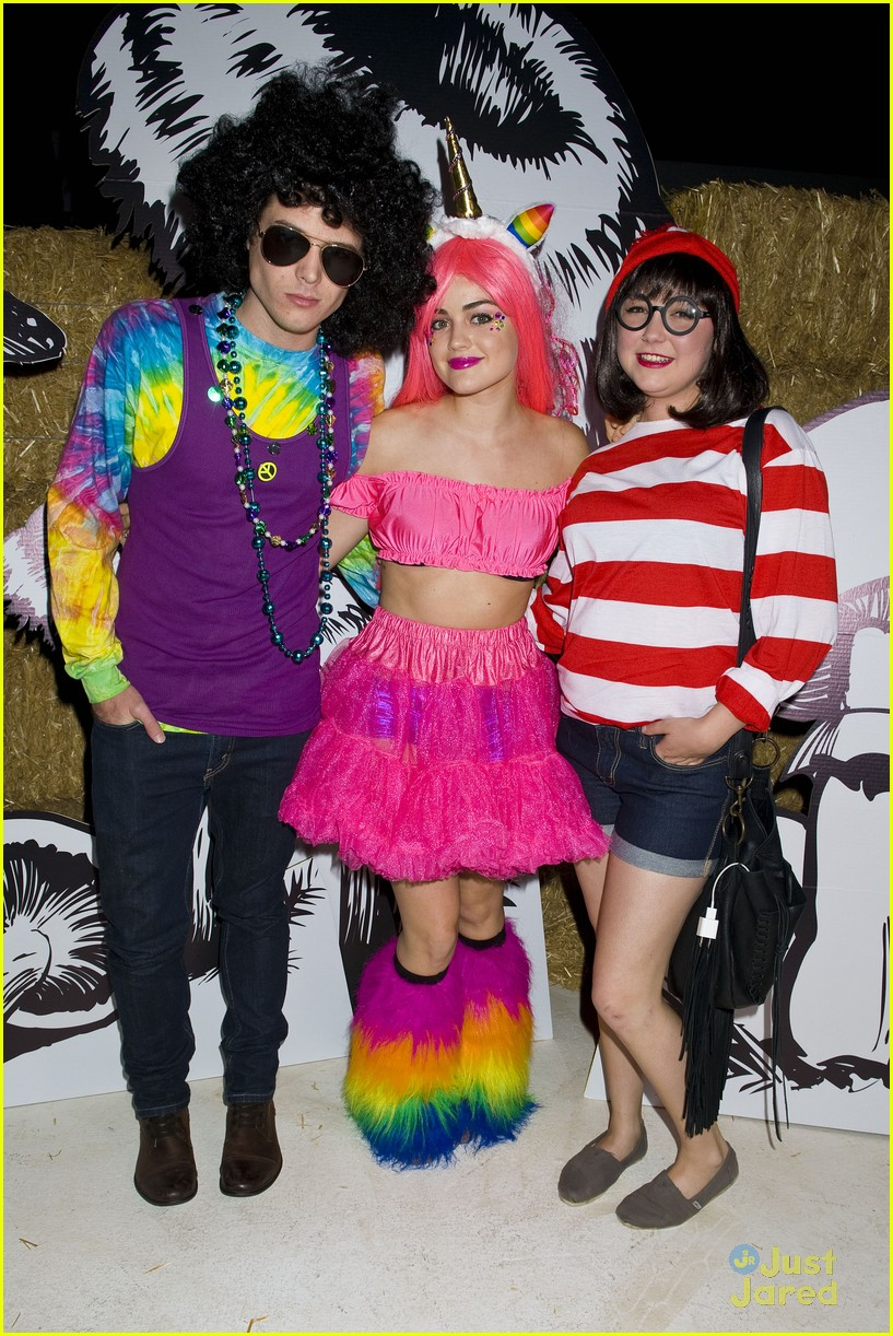 lucy hale jj halloween party 08