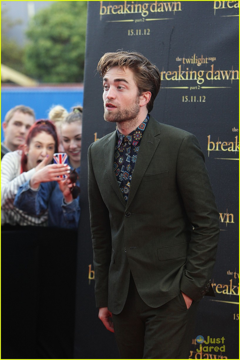 robert pattinson bd premiere sydney 14