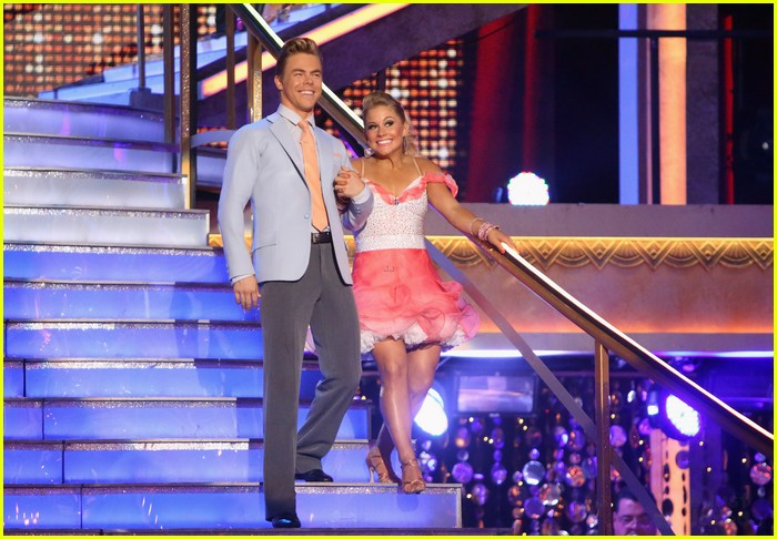 shawn johnson derek hough jive 08