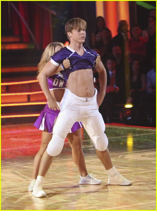 shawn johnson derek hough rumba dwts 01