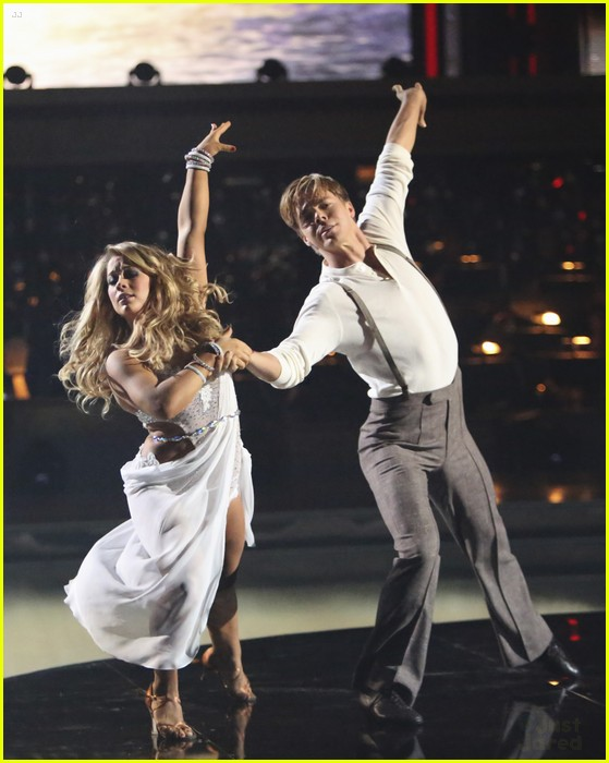 shawn johnson derek hough rumba dwts 12
