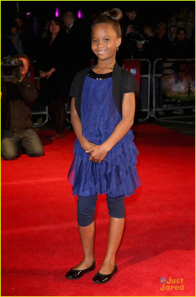 quvenzhane wallis beasts of the southern wild london premiere 09