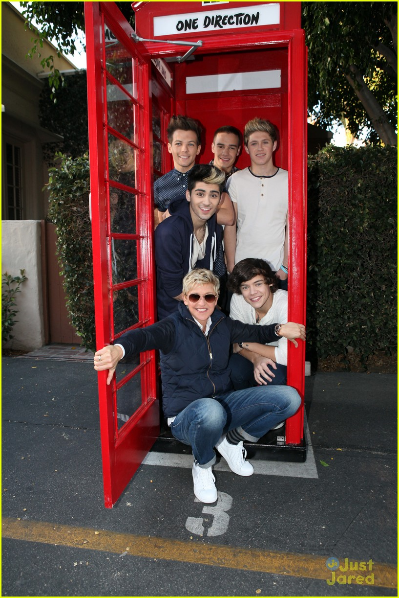 one direction ellen visit09