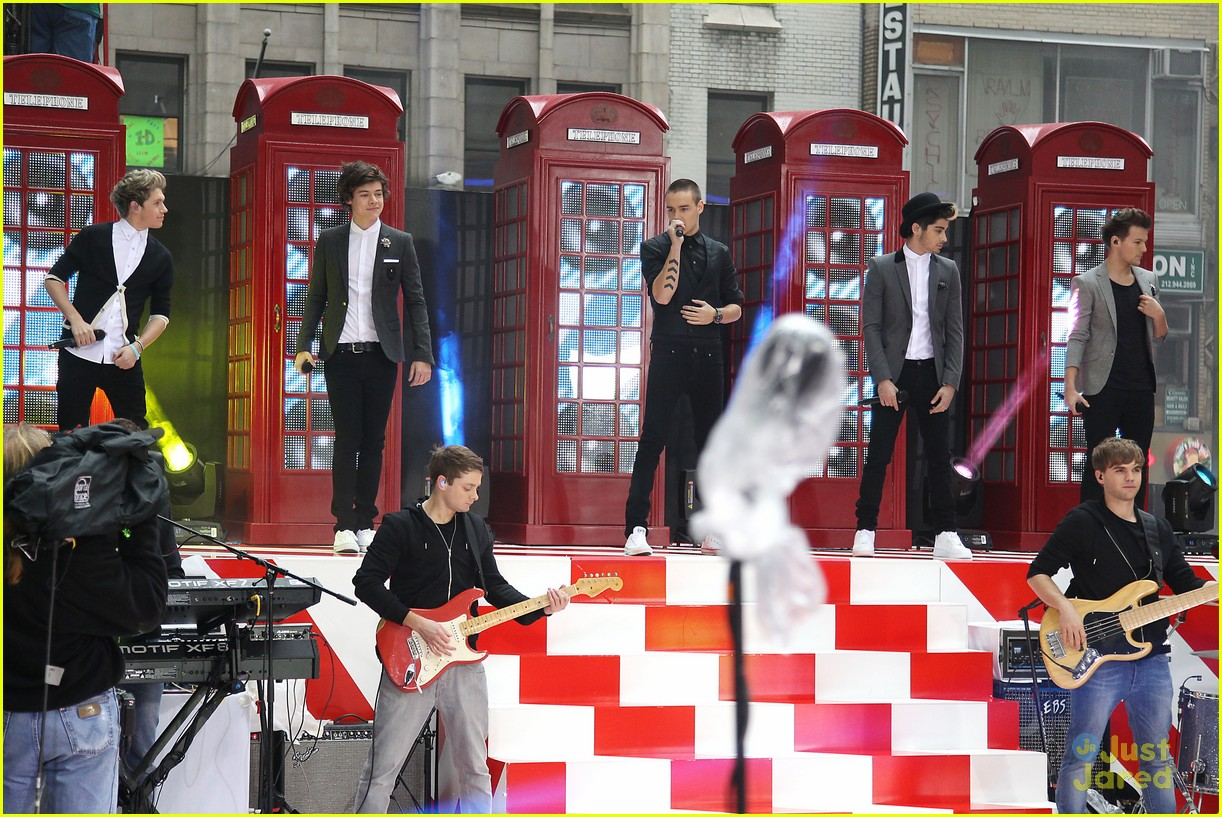 one direction today show 16