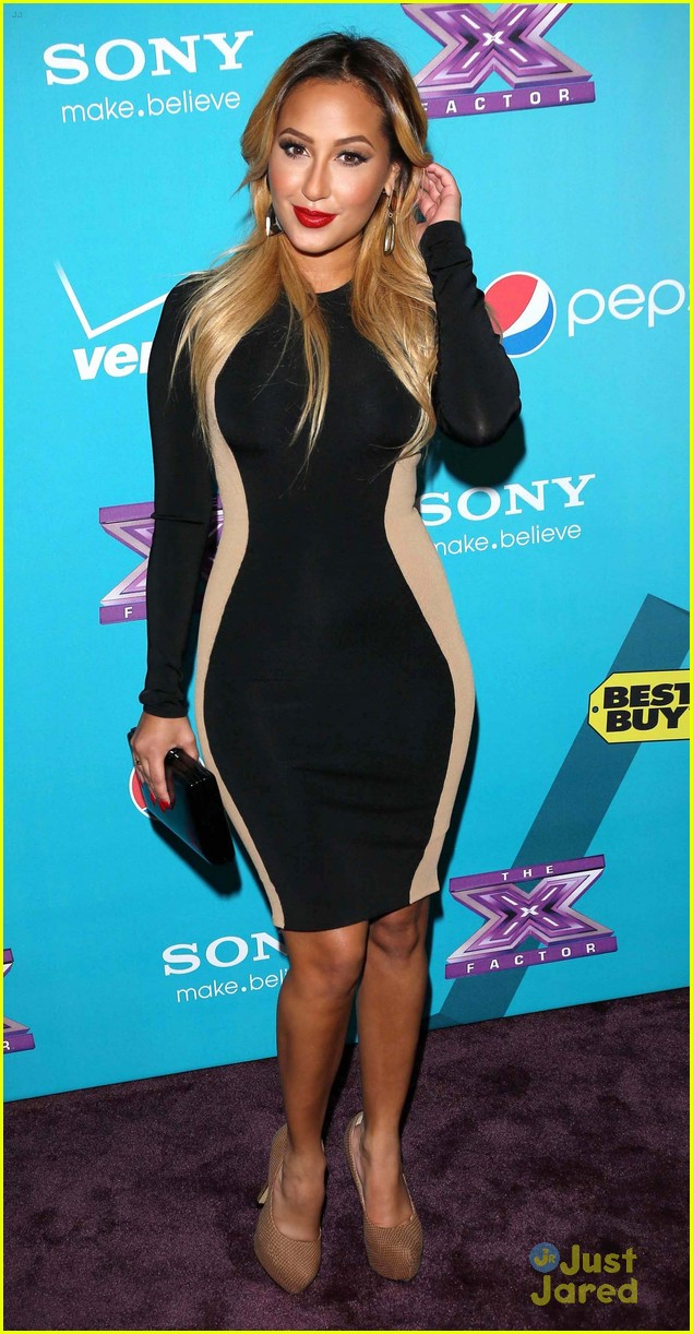 adrienne bailon xfactor finalist party 03