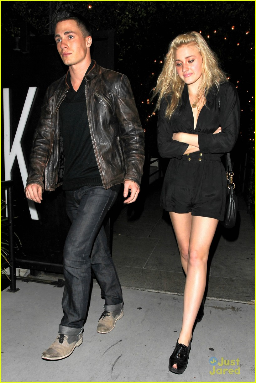 aj michalka colton haynes dinner 04