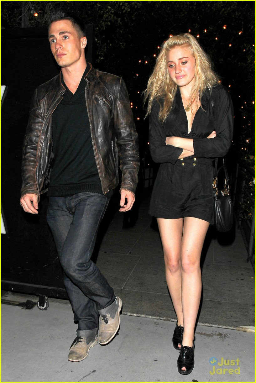 aj michalka colton haynes dinner 09