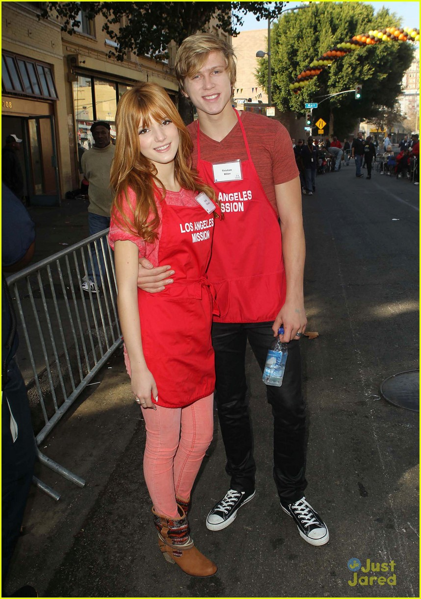 bella thorne christian serratos la mission thanksgiving 04