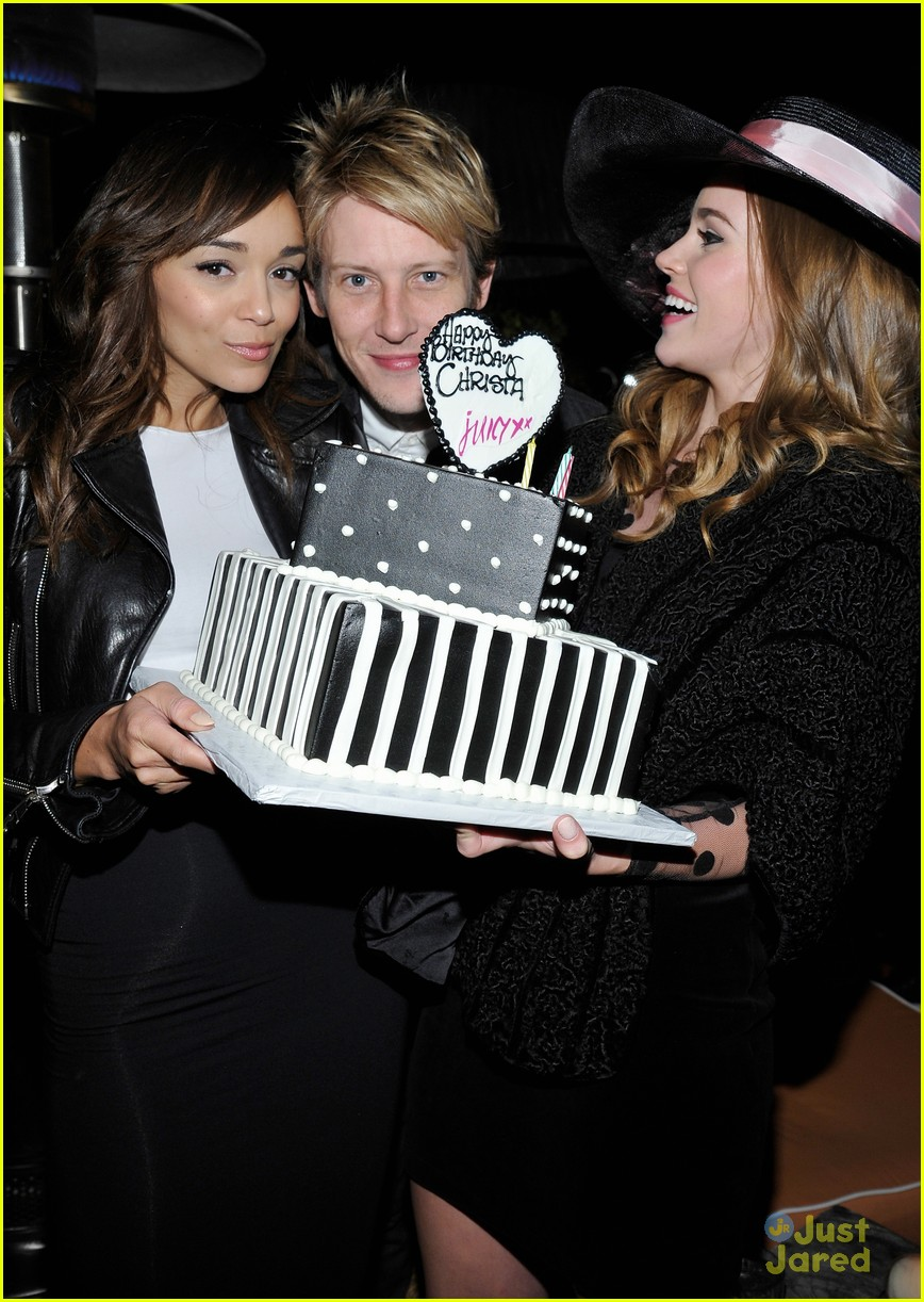 christa allen bday ashley madekwe 08
