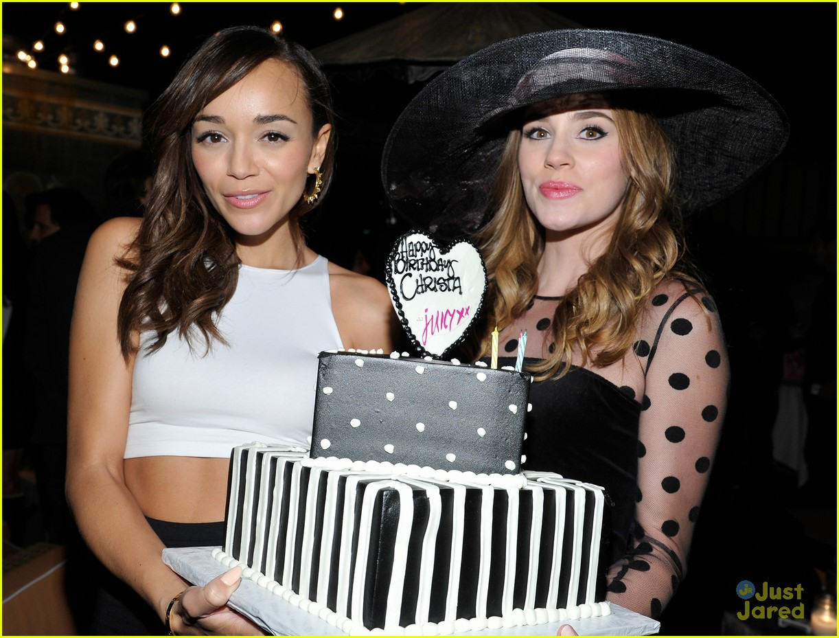 christa allen bday ashley madekwe 11