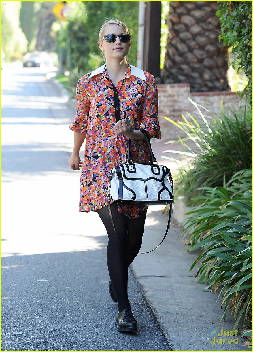 dianna agron vote sticker 16