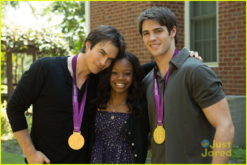 gabby douglas tvd bts pics 04