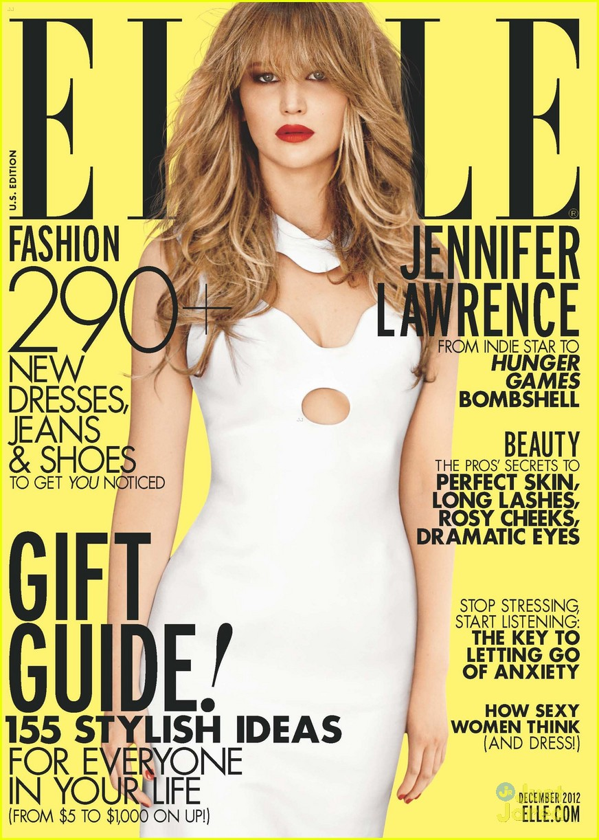 jennifer lawrence elle december 02