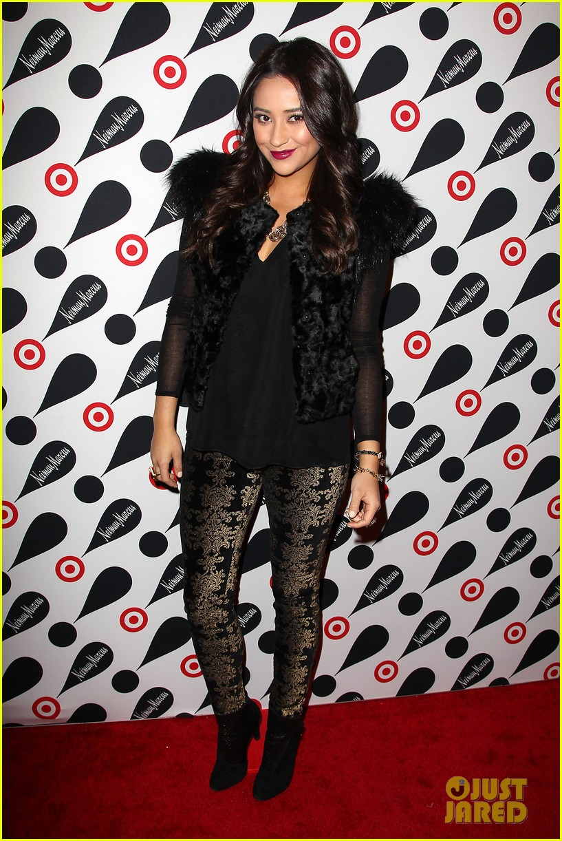 shay mitchell target launch event 06