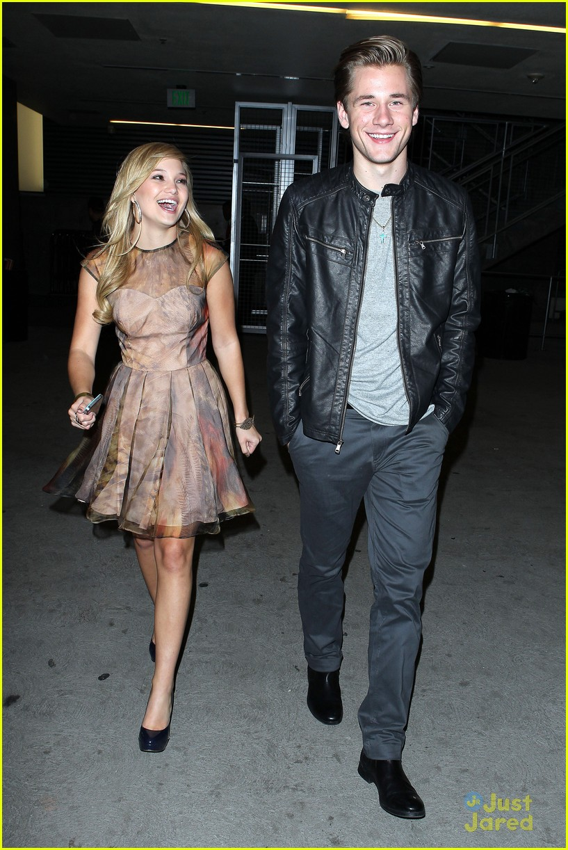 olivia holt luke benward bd after party 06