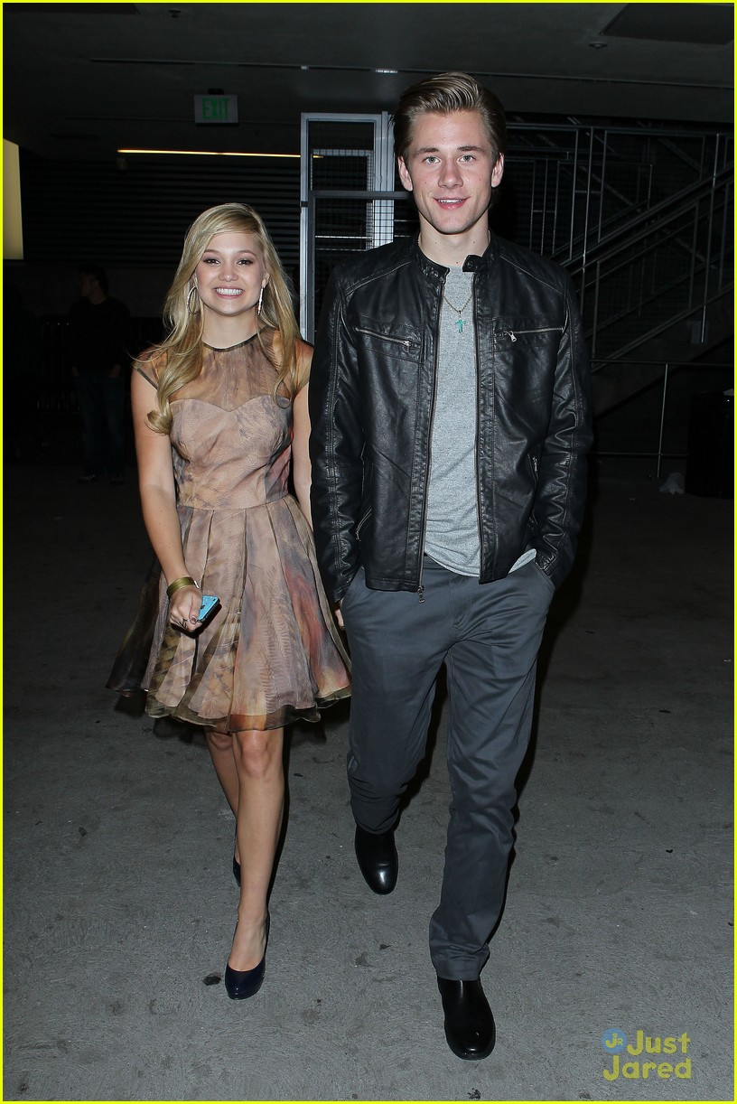 olivia holt luke benward bd after party 08