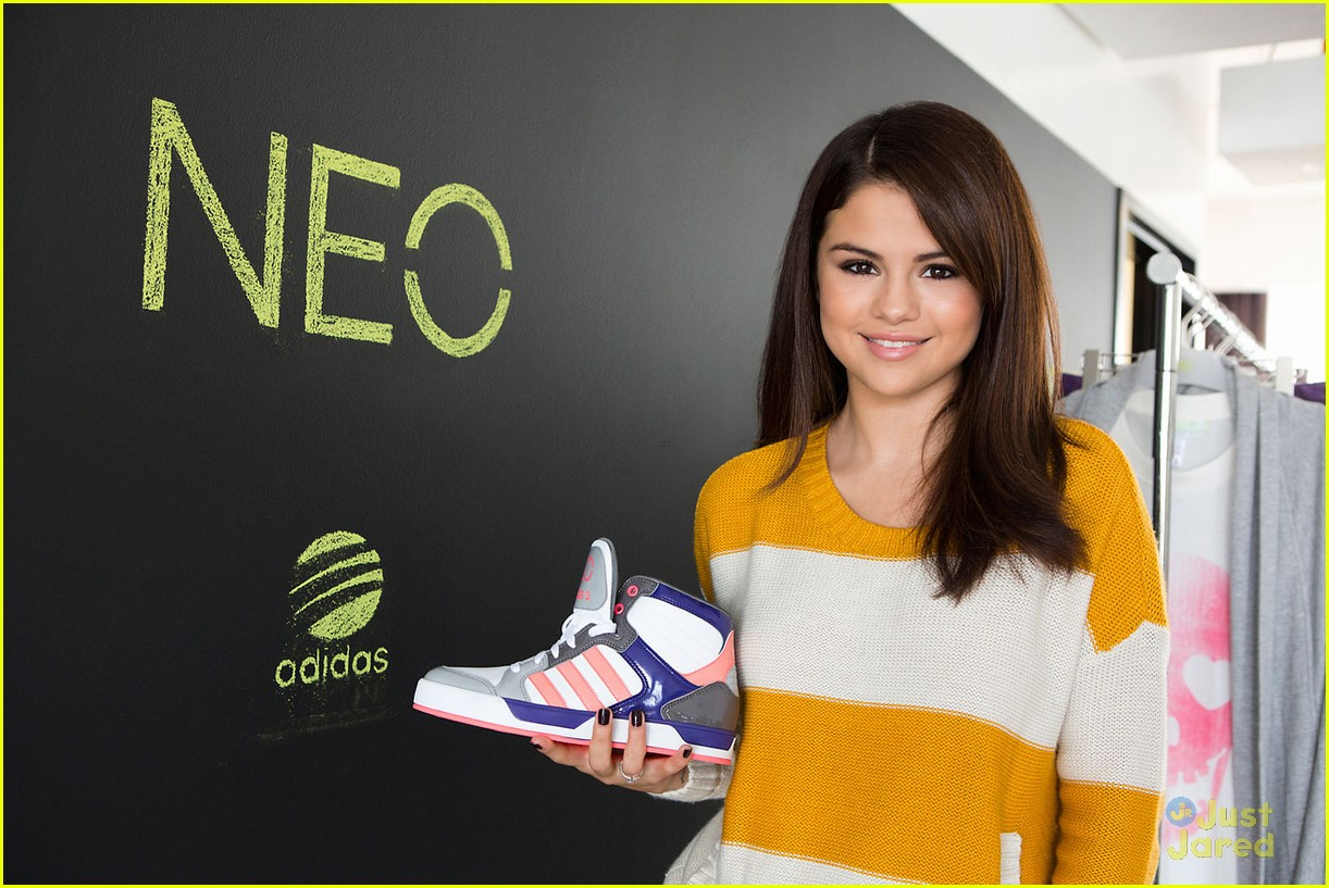 selena gomez adidas neo line 04