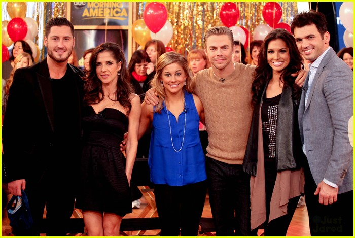 shawn johnson derek hough gma 09