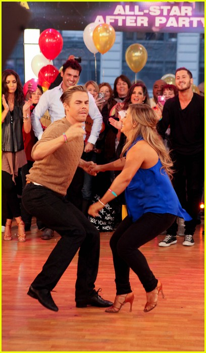 shawn johnson derek hough gma 11