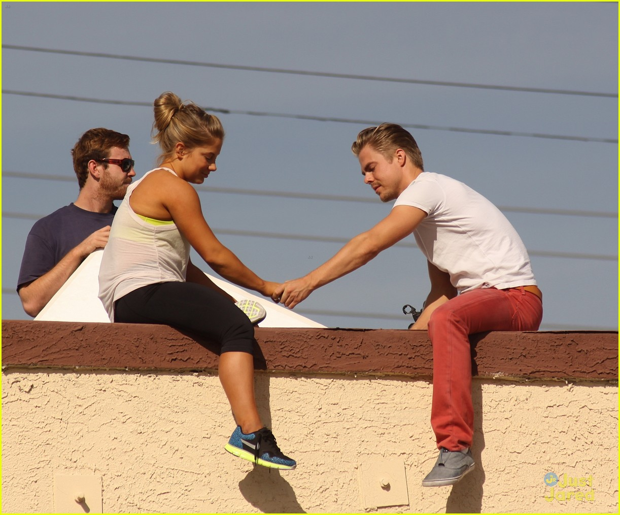shawn johnson rooftop derek hough 01