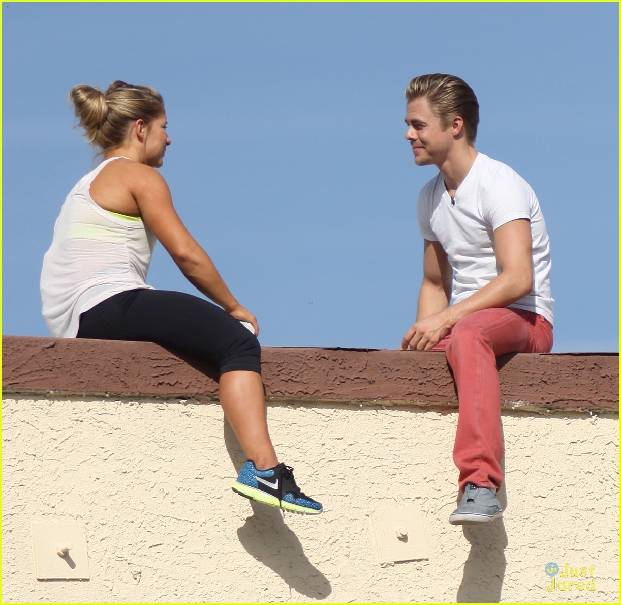 shawn johnson rooftop derek hough 04