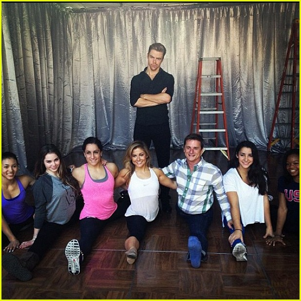 shawn johnson derek hough second dwts 06