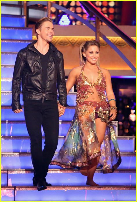 shawn johnson derek hough bad dwts 06