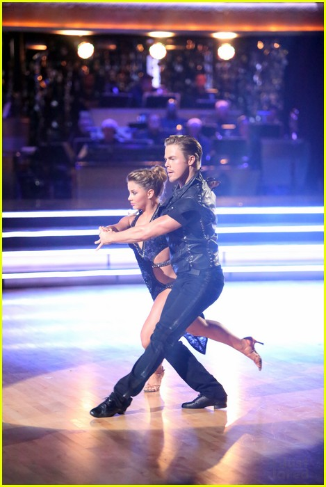 shawn johnson derek hough bad dwts 12