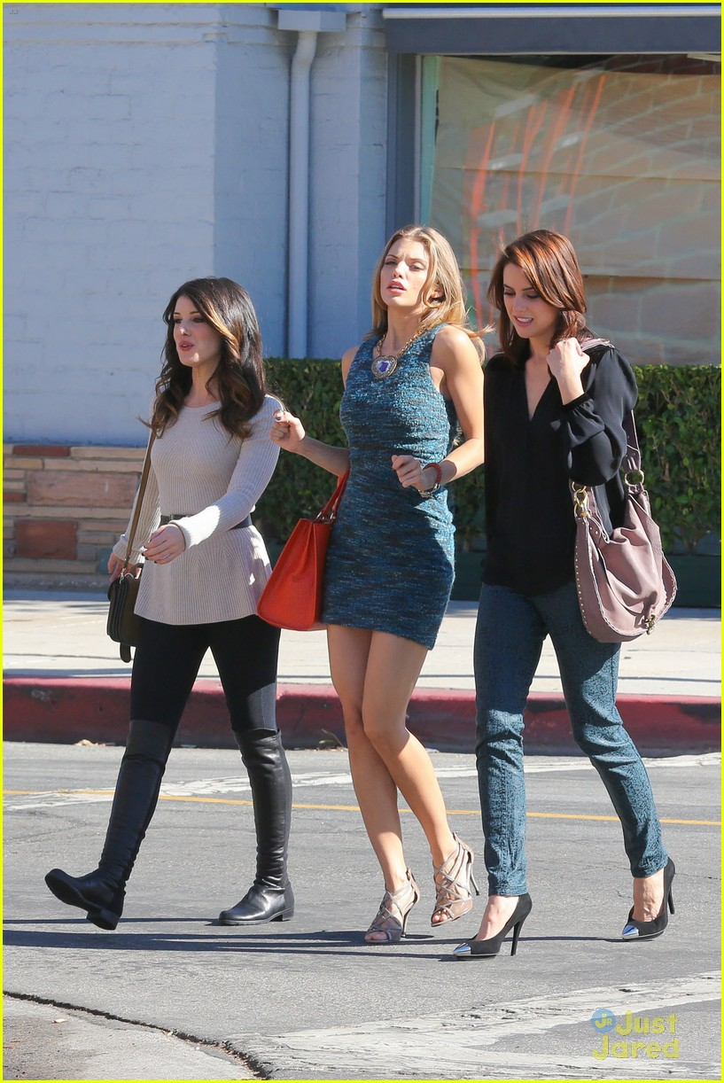 shenae jessica annalynne 90210 filming 04
