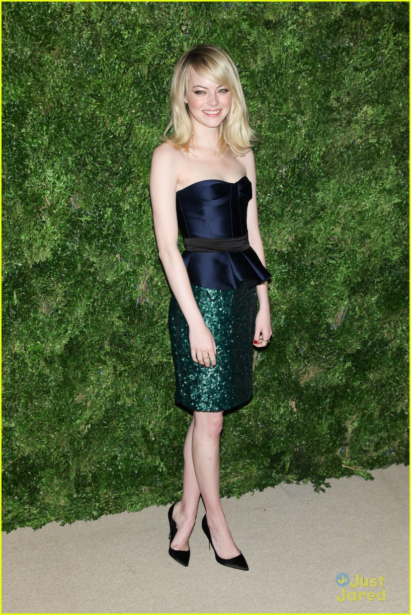 emma stone cfda fashion fund awards 03