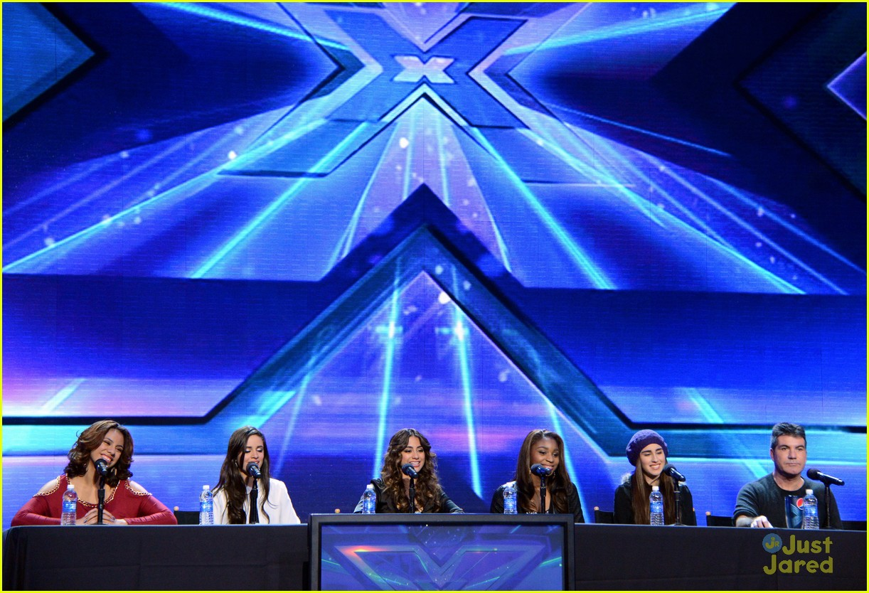 fifth harmony xfactor conference 08