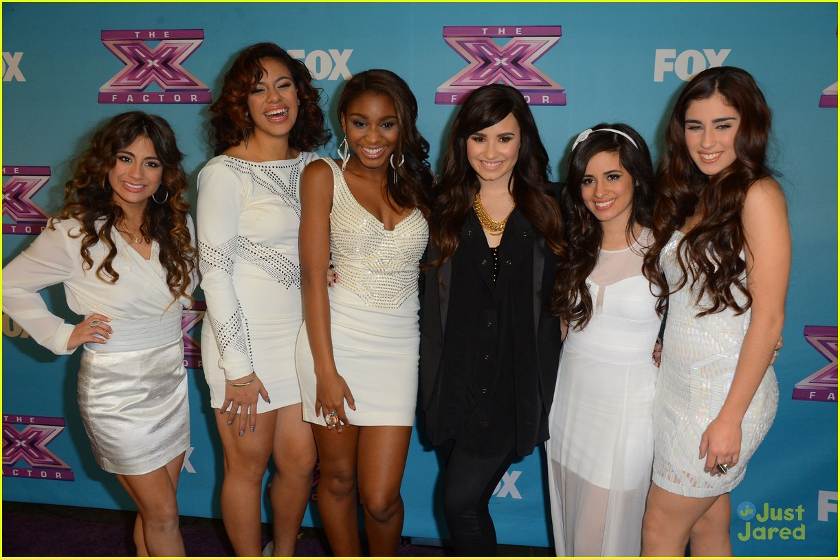fifth harmony xfactor final party 09