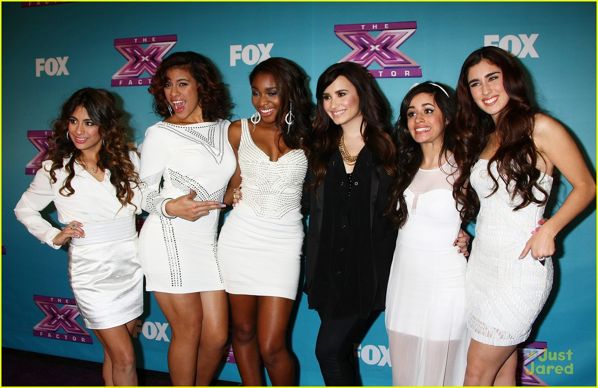 fifth harmony xfactor final party 13