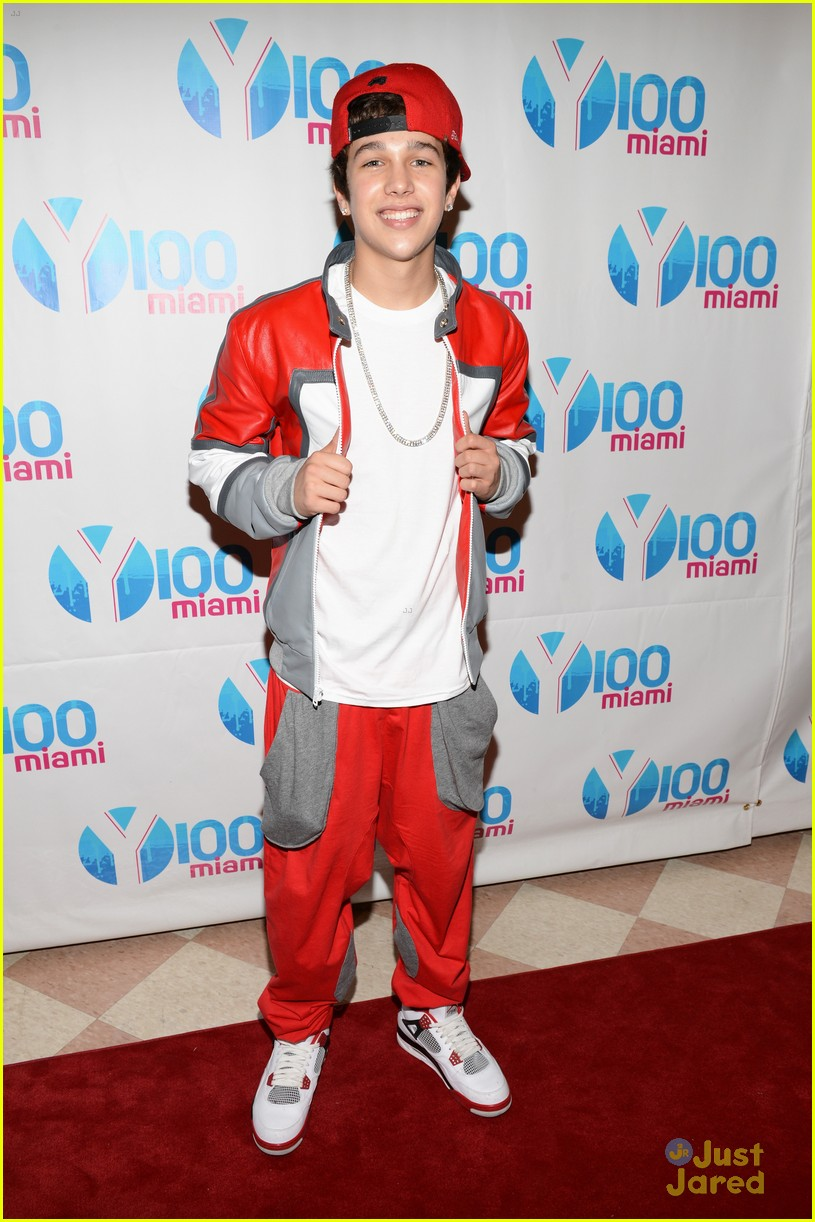 austin mahone y100 jingle ball 12