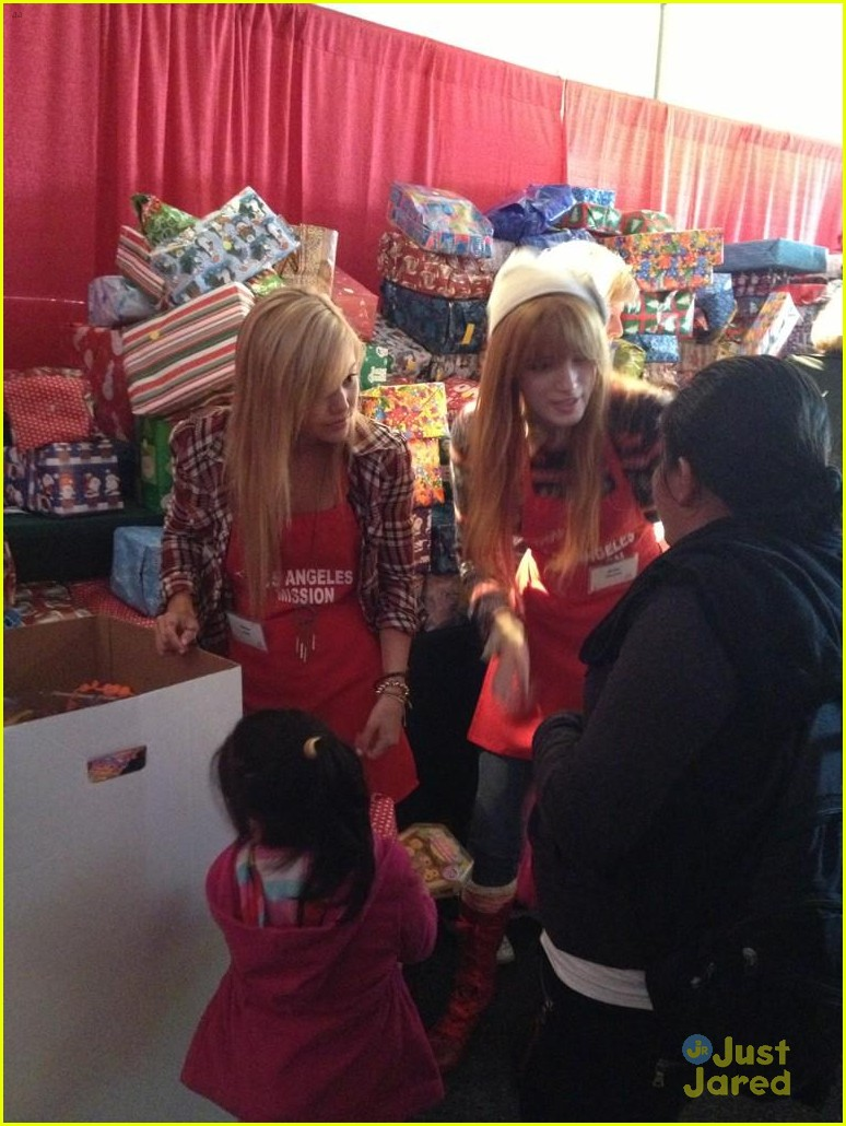 bella thorne olivia holt la mission 08