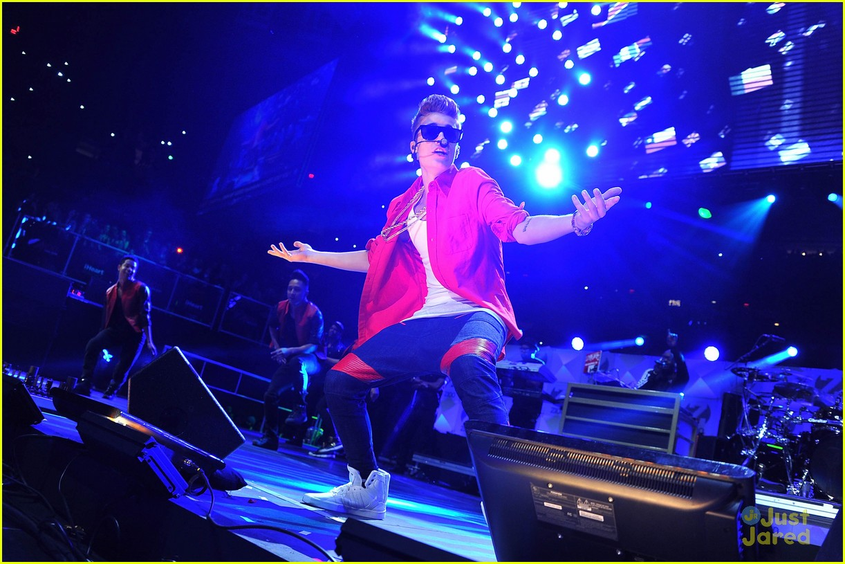 justin bieber z100 jingle ball 20
