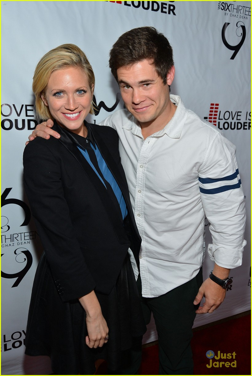 brittany snow chaz dean party 01