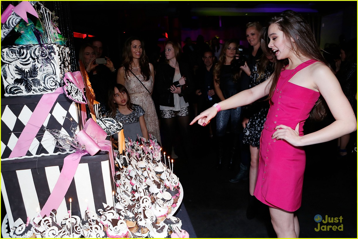 hailee steinfeld sweet 16 party 13