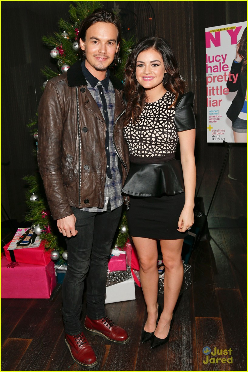 lucy hale nylon cover dinner 21